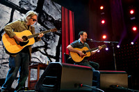 Tim Reynolds and Dave Matthews at Farm Aid 2012 / photo credit: Maria Ives