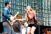 Grace Potter & The Nocturnals at Farm Aid 2012 / photo credit: Maria Ives